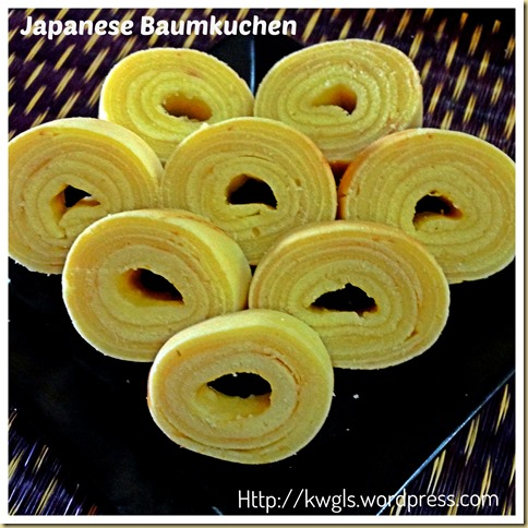 How About Rolling Your Pancake?– The German Layered Cake–Baumkuchen Or Japanese Ring Pancake (日式戒指煎饼)