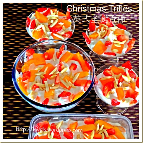 Christmas Puddings Alternative–Christmas Trifles
