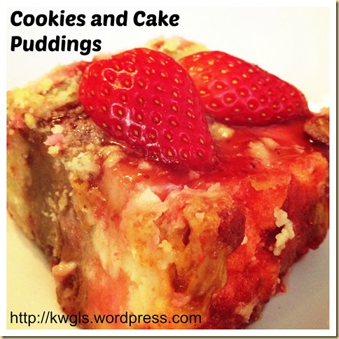 Lots Of Chinese New Year Goodies At Home And Don't Know What To Do With It?–Cookies and Cakes Puddings