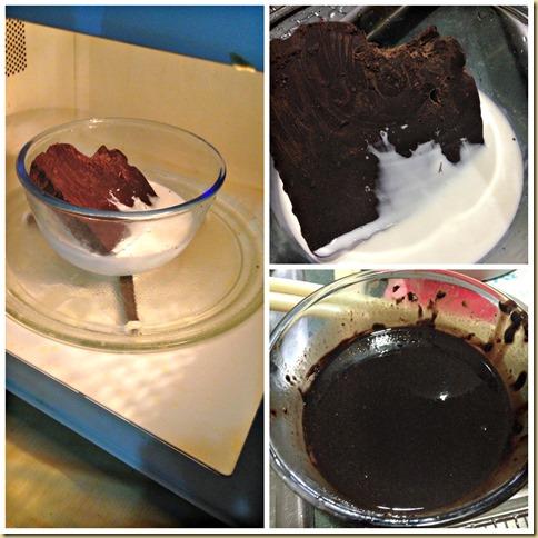Light Chocolate Cake With Chocolate Ganache