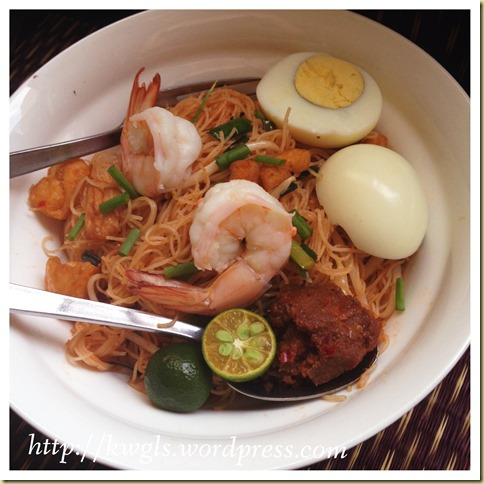 Is This Noodle Dish Related To Thailand?–Mee Siam (米暹)