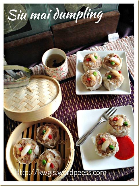 Basic Siu Mai Recipe– Siu Mai Dumpling (烧卖)