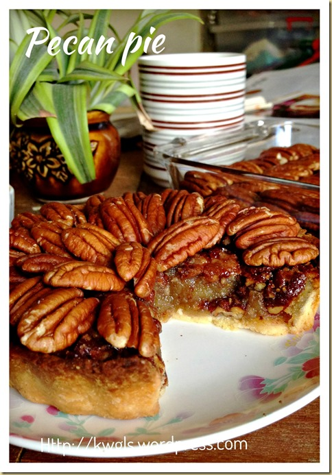 An Expensive And Sinful Indulgence–Pecan Pie (胡桃派)