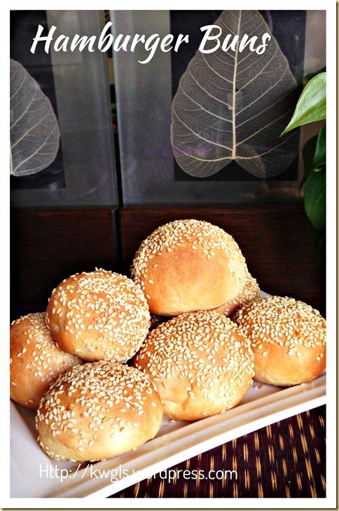 Mini Minie Mani Mo……. Mini Hamburger Buns (迷你汉堡包)