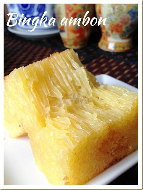 It Is Still Not Perfect Yet - Indonesian Honey Comb Cake–Bika Ambon or Bingka Ambon