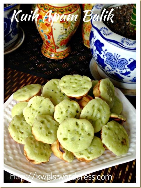 I Am Unsure If The Name Of This Traditional Cake Is Correct… Kuih Manggis, Kuih Syara (香兰小青糕)