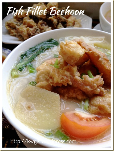 Fish Head/Fillet Rice Vermicelli Soup (鱼头/片米粉汤)
