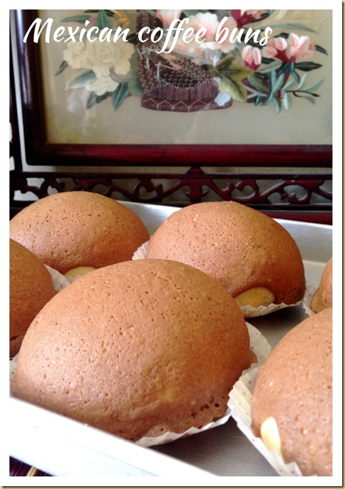 You Stingy Old Man, You Ruined My Mexican Coffee Buns–Polo Buns and Mexican Coffee Buns