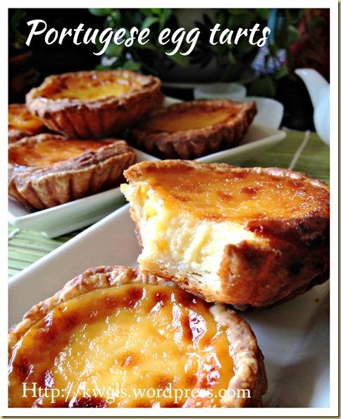 Portuguese Egg Tarts–Pastel De Nata (葡式蛋挞)