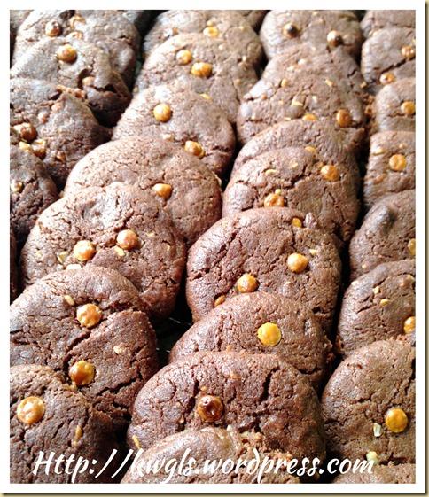 Christmas 2013 Series–Yin Yang Chocolate Macadamia Cookies
