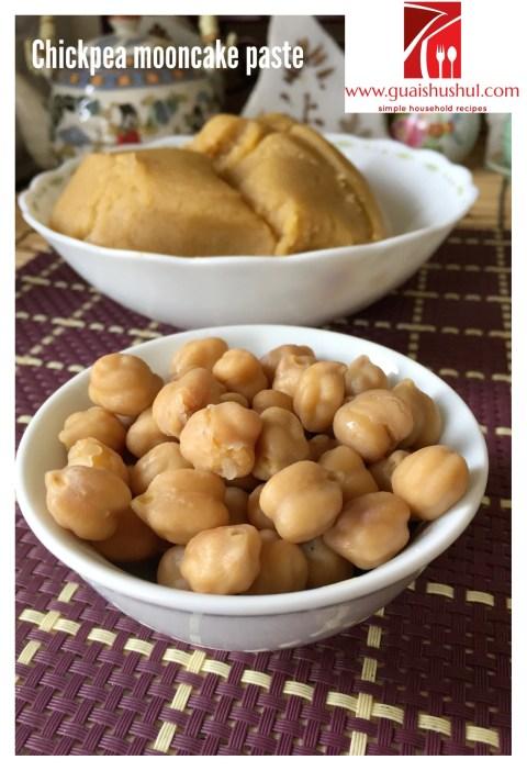 Homemade Mung Bean Paste (白豆沙 / 绿豆沙)