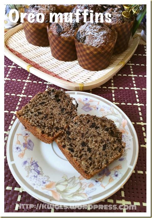 Oreo Muffins (Oreo 小松饼)