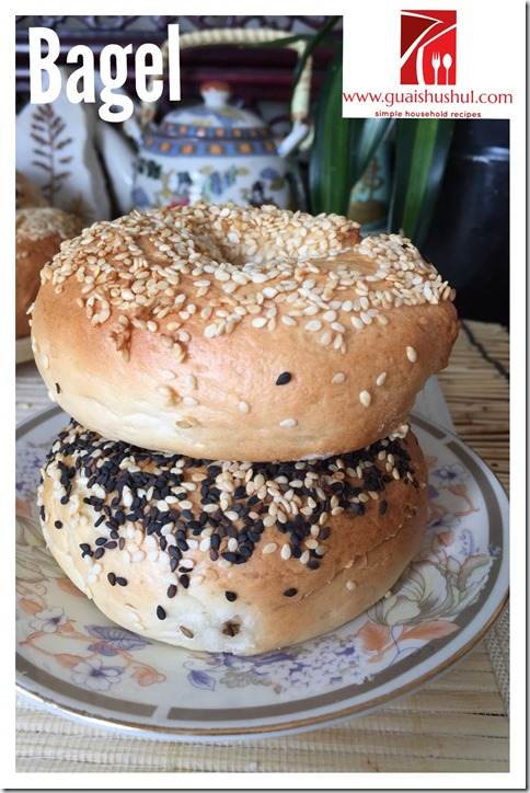 Basic Bagel Recipe (贝果)