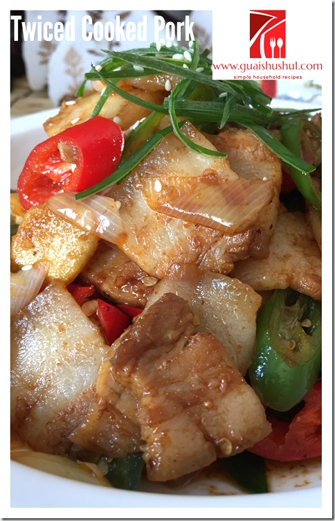 Authentic Sichuan Dish–Twice Cooked Pork (回锅肉)