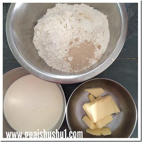 Scones Without Baking Powder–Yeast Raised Scones (酵母司康饼)