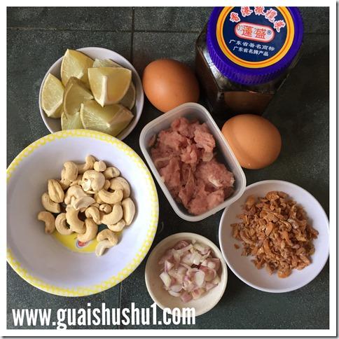 Thai Olive Fried Rice (Khao Phad Nahm Liap)–(泰式黑橄榄炒饭)