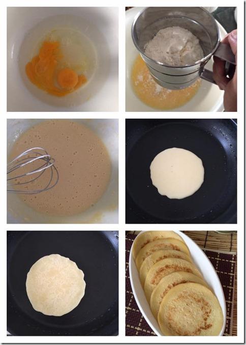 Old Fashion Asian Style Pancake Aka Mihoonkuih (面粉粿)