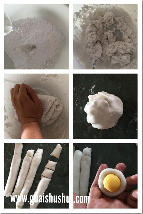Crystal Bao With Milk Custard Filling (奶皇水晶包)
