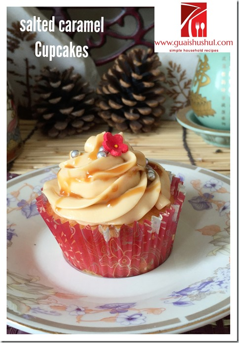 Salted Caramel Cream Cheese Frosting (咸焦糖奶酪糖霜)