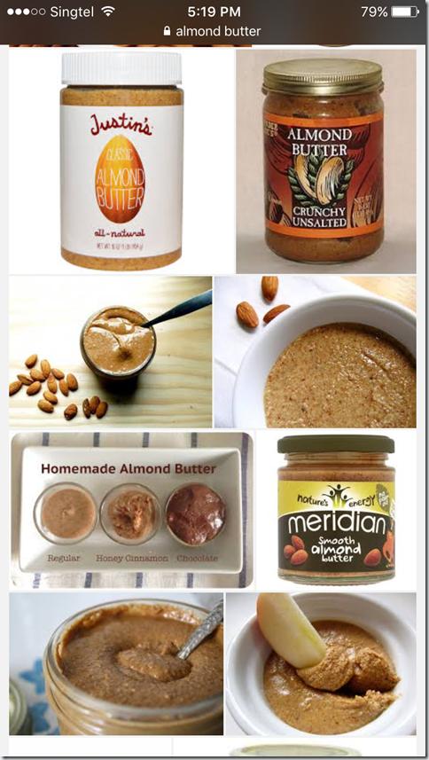 Peanut Butter's Cousin?–Almond Butter (杏仁奶油, 杏仁酱)