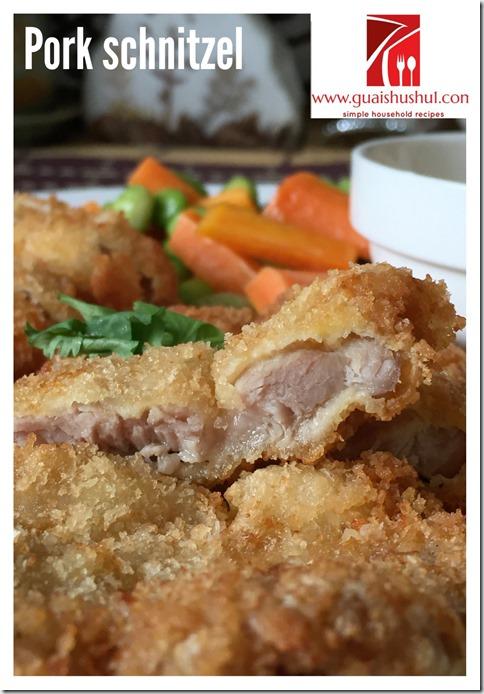 Classic German Pork Schnitzel Recipe (德式炸猪排)