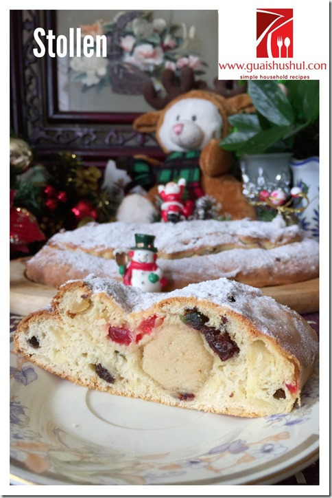 German Classic Christmas Bread Stollen (德国圣诞面包 - 史多伦)