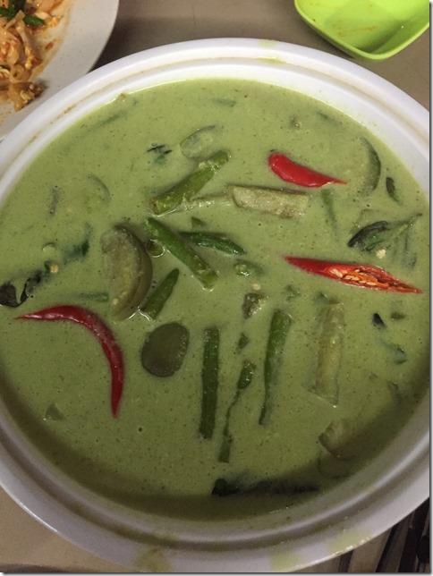 Thailand Green Chicken Curry aka Gaeng Kiaw Wan Neua (泰国绿咖喱鸡 แกงเขียวหวานไก่ไทย)