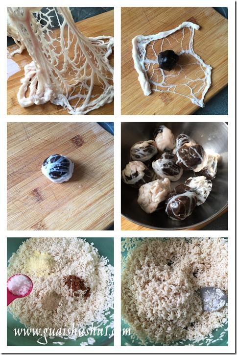 Teochew aka Chaozhou  Sweet And Savoury Dumplings (潮汕双拼肉粽)