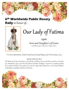 6th Annual Fatima Rosary