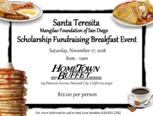 Breakfast Fund Raiser
