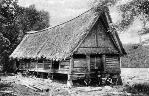 Postcard of Palau from 1909. Courtesy of Governor Joseph Ada