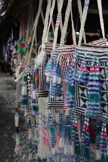 Papua New Guinea Bags. Solomon Islands FestPac 2012. Photo by Ron J. Castro.