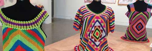 Gatu kolose (Crocheted tops). Courtesy of Samuel Hartnett.