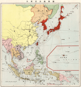 map asia co-prosperity