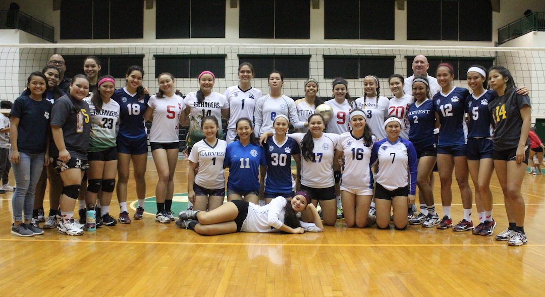ALL FUN IN UOG HOSTED VOLLEYBALL ALL-STAR GAME - GSPN - Guam