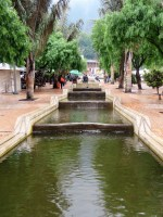 Water from Monerrate channeled through town