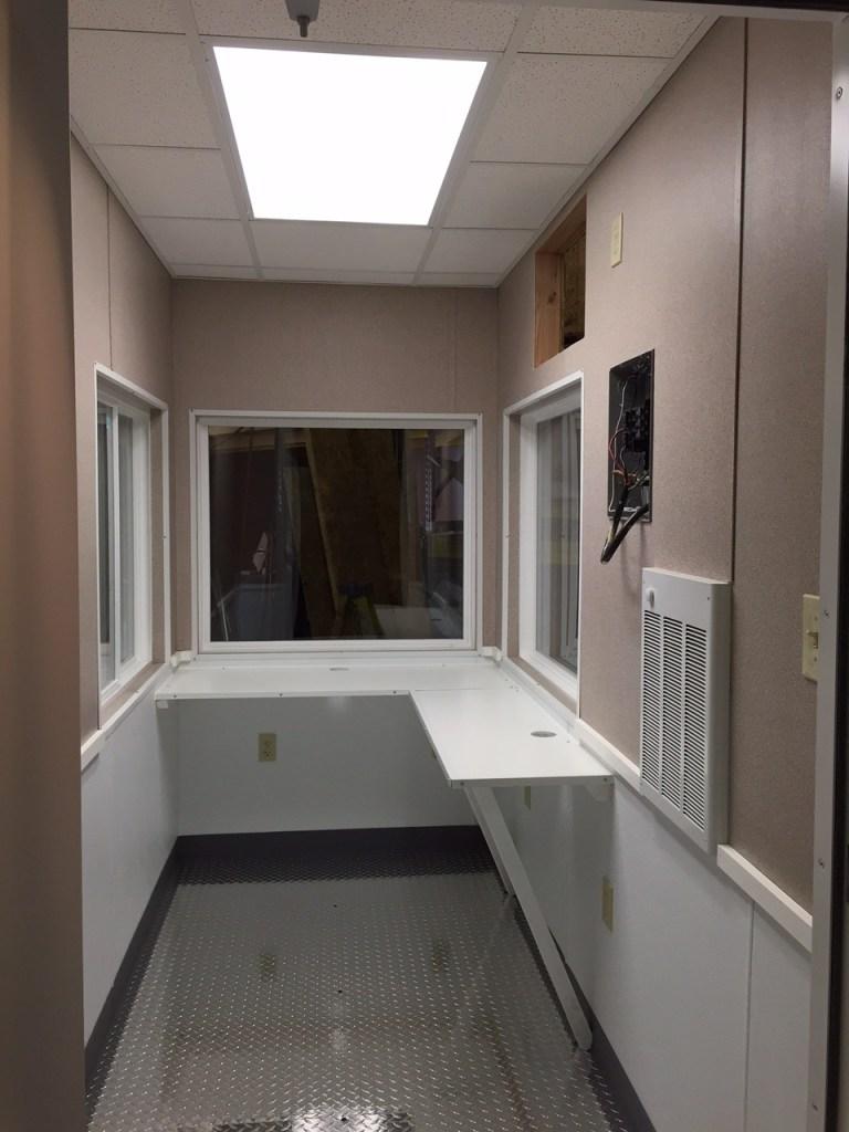 Fordham-Security Booth-Interior
