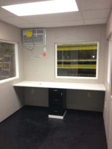 8 x 10 Guard Booth-Operator Booth-Scale Booth-120MPH Zone-Interior