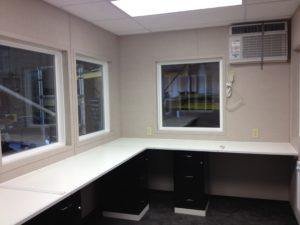 8 x 12 Guard Booth-Plan B-Custom Interior
