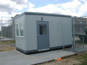8x14 Guard Booth with Restroom-ADA