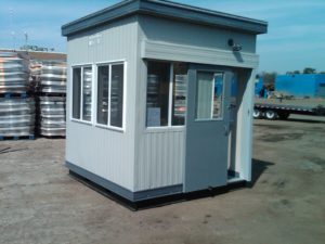 8 x 8 Operator Booth-Sliding Door-Gershaw Recycling