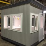 8 x 10 Operator Booth-E & L Construction