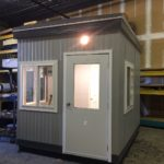 8 x 10-Guard Booth with Restroom