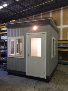 8 x 10 Guard Booth with Restroom