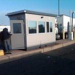 6' x 12' Custom Guard Booth