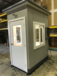 4 x 6 Guard Booth-Plan A-Model#46GHA