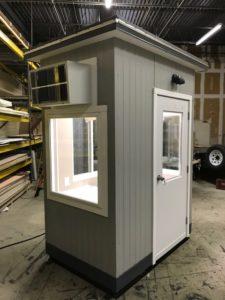 4 x 6 Guard Booth-Plan B-Model#46GHB