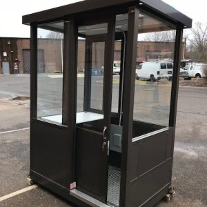 Guard Shack 4 x 6 Bronze Sliding Door