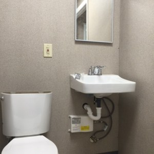 Booths with Restroom