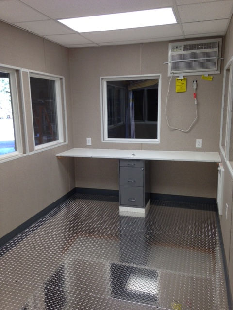 8x12 Guard Booth-PlanA-Interior